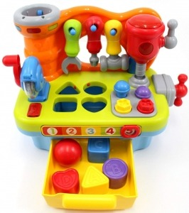 CifToys Musical Learning Workbench Toy review