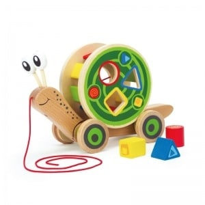 Hape Award Winning Walk-A-Long Snail review